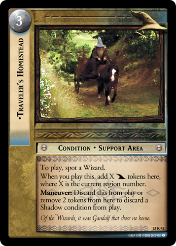 Traveler's Homestead (13R42) Card Image