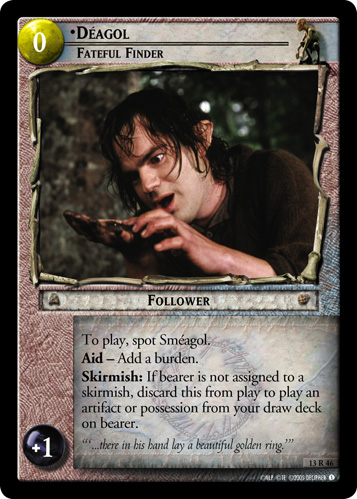 Deagol, Fateful Finder (13R46) Card Image