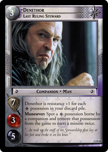 Denethor, Last Ruling Steward (13R64) Card Image