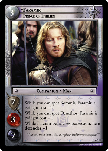 Faramir, Prince of Ithilien (13C66) Card Image