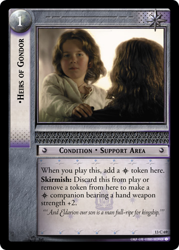 Heirs of Gondor (13C69) Card Image