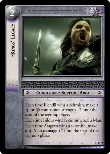 Kings' Legacy (13U72) Card Image
