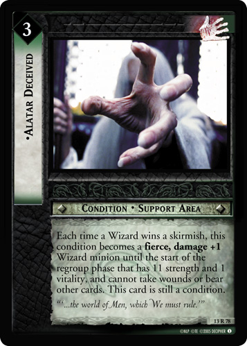 Alatar Deceived (13R78) Card Image