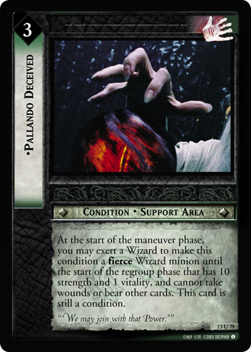 Pallando Deceived (13U79) Card Image