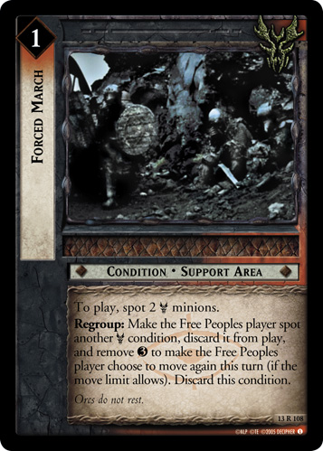 Forced March (13R108) Card Image