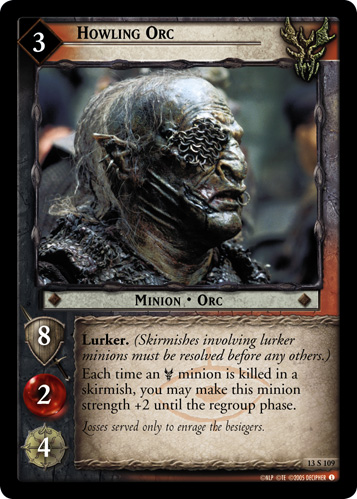 Howling Orc (13S109) Card Image