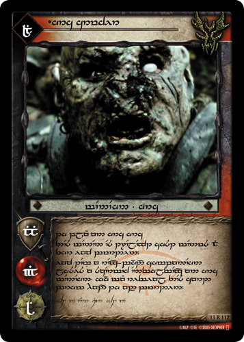 Orc Crusher (T) (13R112T) Card Image