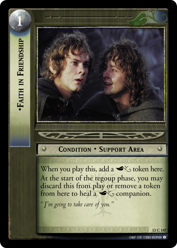 Faith in Friendship (13C147) Card Image