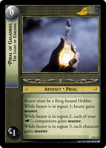 Phial of Galadriel, The Light of Earendil (13R155) Card Image