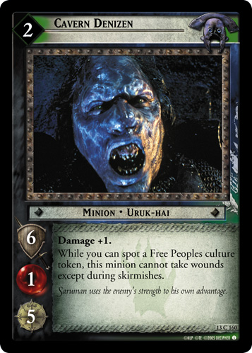 Cavern Denizen (13C160) Card Image