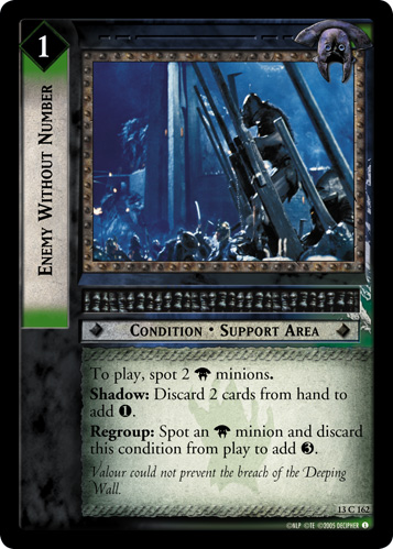 Enemy Without Number (13C162) Card Image