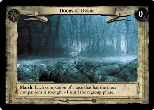 Doors of Durin (13U190) Card Image