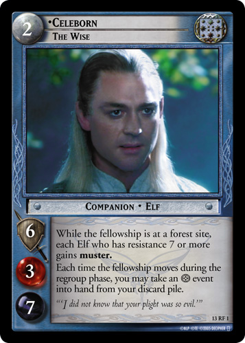 Celeborn, The Wise (F) (13RF1) Card Image