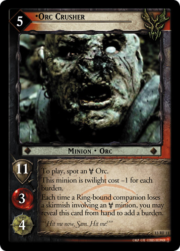 Orc Crusher (F) (13RF11) Card Image