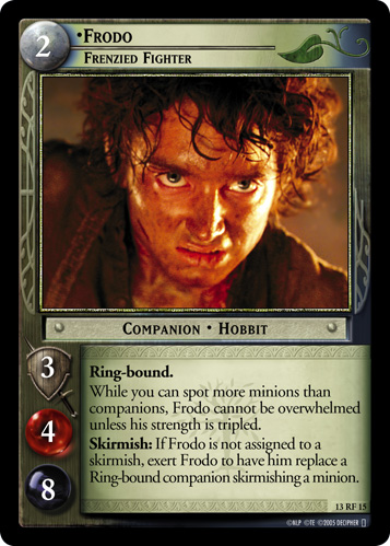 Frodo, Frenzied Fighter (F) (13RF15) Card Image