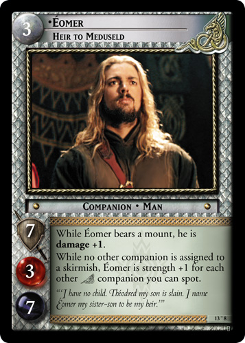 Eomer, Heir to Meduseld (O) (13O8) Card Image