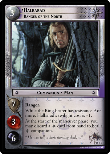 Halbarad, Ranger of the North (14R9) Card Image