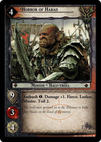 Horror of Harad (14R13) Card Image