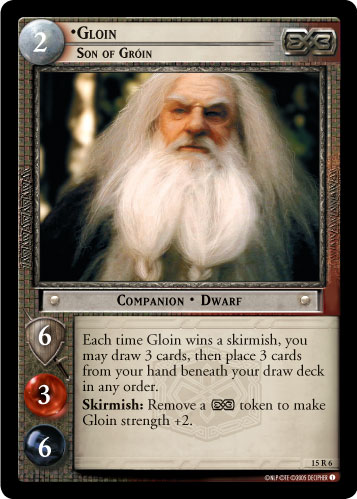 Gloin, Son of Groin (15R6) Card Image