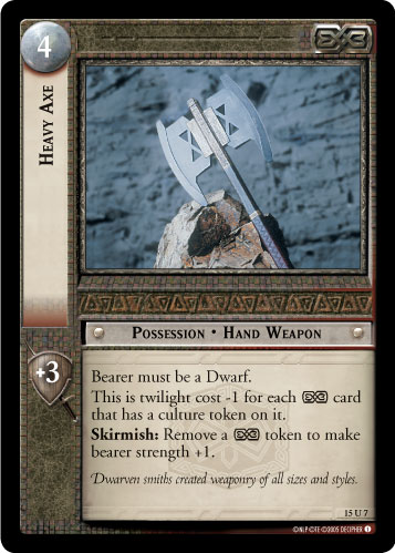 Heavy Axe (15U7) Card Image