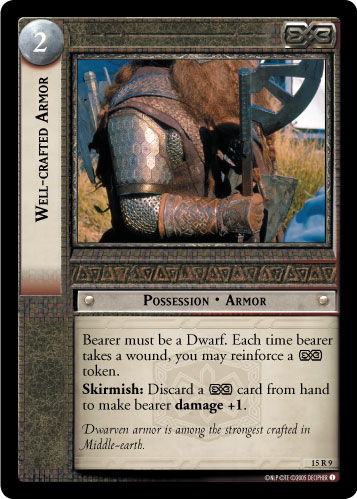 Well-crafted Armor (15R9) Card Image