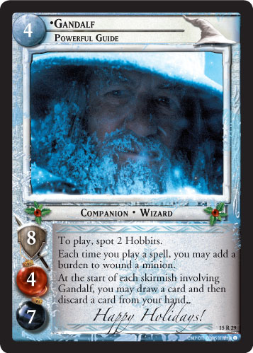 Gandalf, Powerful Guide (H) (15R29H) Card Image