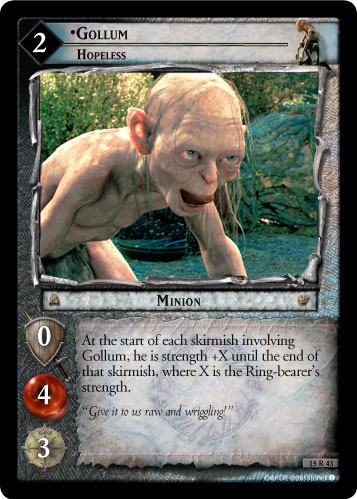 Gollum, Hopeless (15R43) Card Image
