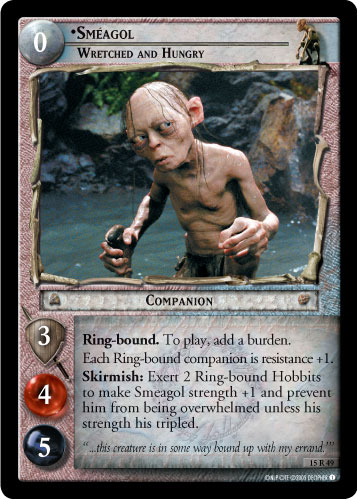 Smeagol, Wretched and Hungry (15R49) Card Image