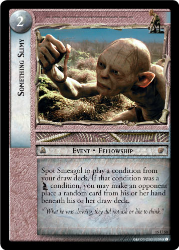 Something Slimy (15U50) Card Image