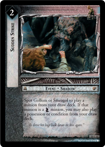 Sudden Strike (15U51) Card Image