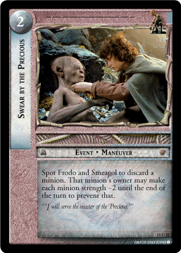 Swear By the Precious (15U52) Card Image