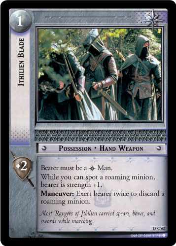 Ithilien Blade (15C62) Card Image
