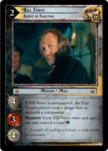 Bill Ferny, Agent of Saruman (15R72) Card Image