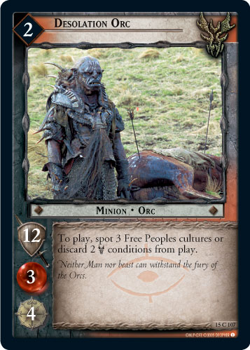 Desolation Orc (15C107) Card Image