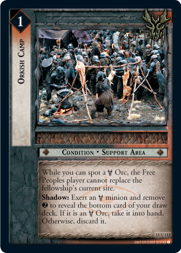 Orkish Camp (15U113) Card Image