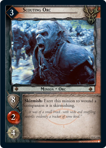 Scouting Orc (15C116) Card Image