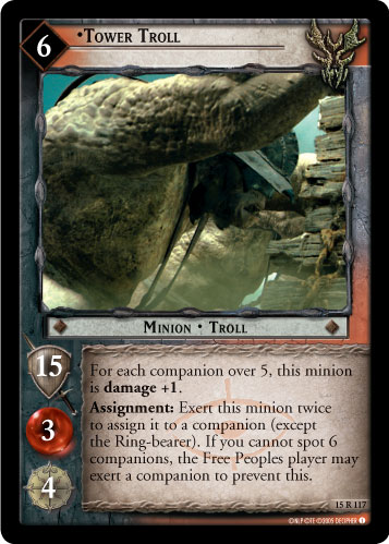 Tower Troll (15R117) Card Image