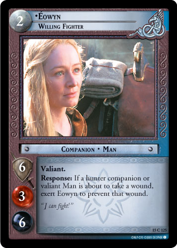 Eowyn, Willing Fighter (15C125) Card Image