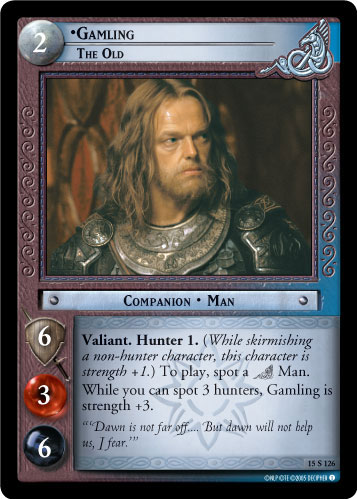 Gamling, The Old (15S126) Card Image