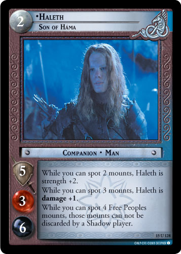 Haleth, Son of Hama (15U128) Card Image