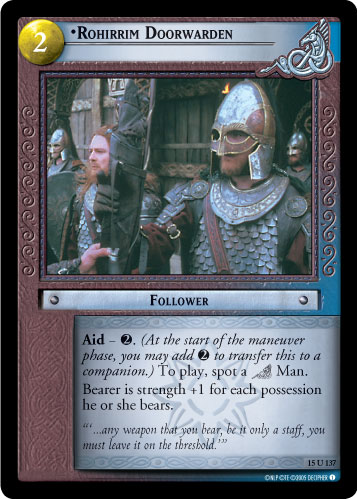 Rohirrim Doorwarden (15U137) Card Image