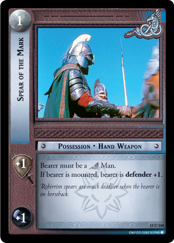 Spear of the Mark (15U140) Card Image