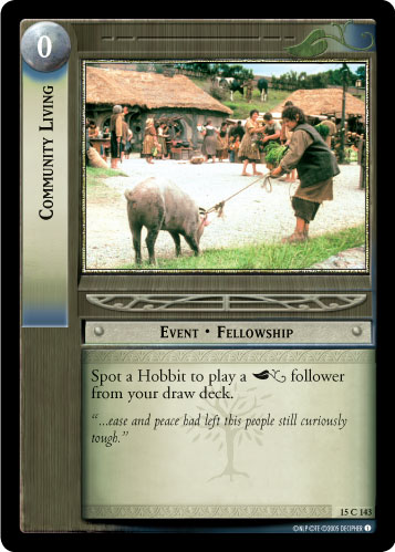 Community Living (15C143) Card Image