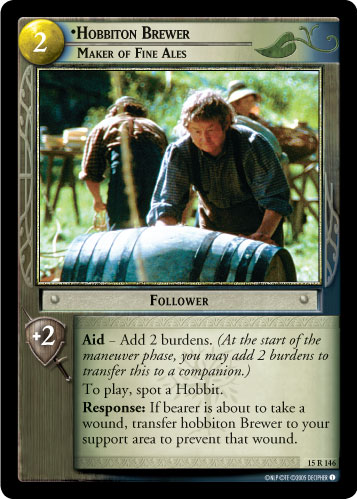 Hobbiton Brewer, Maker of Fine Ales (15R146) Card Image