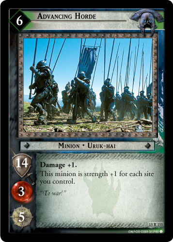 Advancing Horde (15R155) Card Image