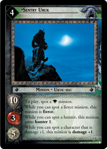 Sentry Uruk (15R170) Card Image