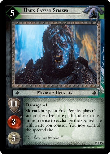 Uruk Cavern Striker (15R174) Card Image