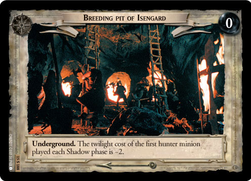 Breeding Pit of Isengard (15U188) Card Image