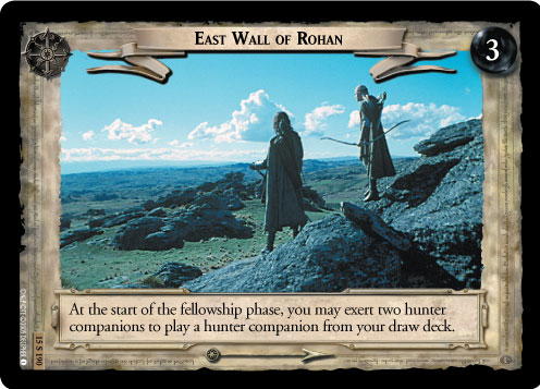 East Wall of Rohan (15U190) Card Image