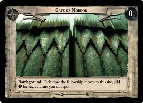 Gate of Mordor (15U191) Card Image
